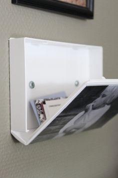 Tolles Videokassetten-Upcycling: die Hülle als Bild und Stauraum nutzen