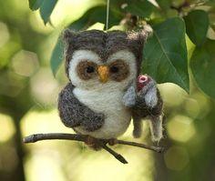 felted owl