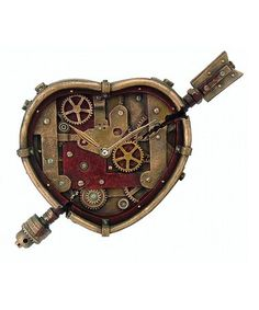 Loving this Steampunk Clockwork Heart Décor on #zulily! #zulilyfinds