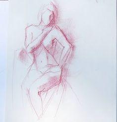 gesture drawings by Kristina