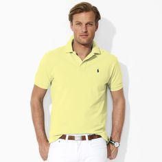 Classic Polo by Ralph Lauren, in light yellow