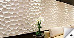 awesome wall panels  3D Falpenelek: www.falpanelek.hu  Wallart 3D, Loft Design System, Kerma Design