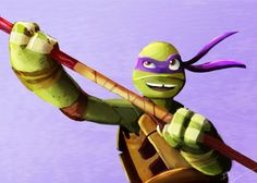 OP: the episode of yesterday really cheered me up, so i decided to paint one of the turtle.   TMNT 2012