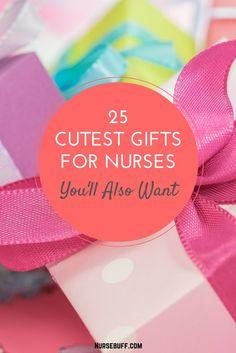 25 Cutest Gifts For Nurses You'll also Want #Nursebuff #nurse #Gifts