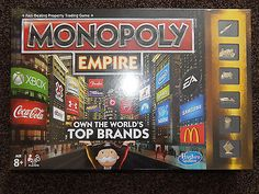 Monopoly Empire family board Game. New