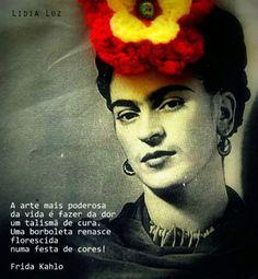 Frida Kahlo(Com meus pensamentos e momentos ok.)