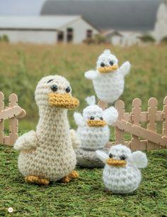 Crochet a Farm: 19 Cute-as-Can-Be Barnyard Creations Ducks