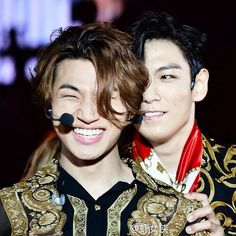 TOP and Daesung ♡ #BIGBANG #TODAE