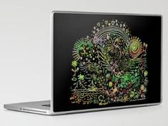 DoodleLand Two...Over the Rainbow Laptop & iPad Skin by Lisa Argyropoulos | Society6