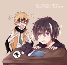 Licht, Kuro and Hyde ~ ( Servamp )