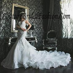Royal Michael Cinco beaded wedding dress