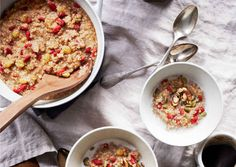 Hot Oat and Quinoa Cereal