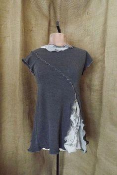 Foto de AnthropologieFoto deAnthropologie       Esta idea, además de permitirte personalizar la espalda de una camisa, una sudadera o una camiseta, puede ayudarte a conseguir unos centímetros e