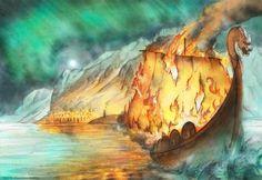 Funeral - Vikings Book by FrancescaBaerald.deviantart.com on @deviantART