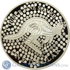 This 2001 Proof Silver Kangaroo Coin Is Too Cool For Words. http://www.gainesvillecoins.com/
