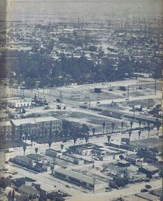 Banning High School 1957 Wilmington California, Harbor City, Old Buildings, Long Beach, Paris Skyline, Past, High School, Places To Visit, Memories