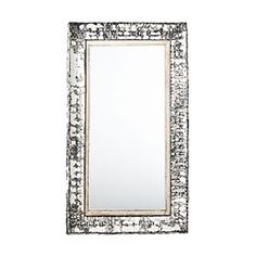 pressed tin mirror