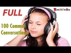 Daily English Conversation | 100 lessons | 2016 FULL HD - YouTube