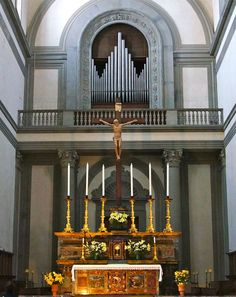 Medici Chapels and Church of San Lorenzo - Florence. Алтарь.