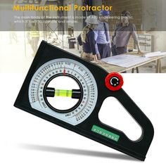 Multifunctional Bevel Angle Inclinometer Gauge Protractor Level Slope Scale Tool Angle Measuring Tool, Protractor, Tools Uk, Woodworking Tips, Multifunctional, Gauges, Scale, Ebay, Weighing Scale