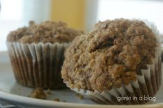 Alternate titles: Banana Muffins You'll Want to Make Out With Banana Muffins, Get in Mah Belleh! HolyShitThisIsGood Banana Muffins Sorry, I Ate All the Streusal with a Fork I think this is the fir. Yummy Treats, Delicious Desserts, Yummy Food, Tasty, No Bake Desserts, Dessert Recipes, Smoking Recipes, Cupcake Cakes, Cupcakes
