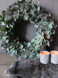 Eucalyptus krans. www.huizevizzini.nl