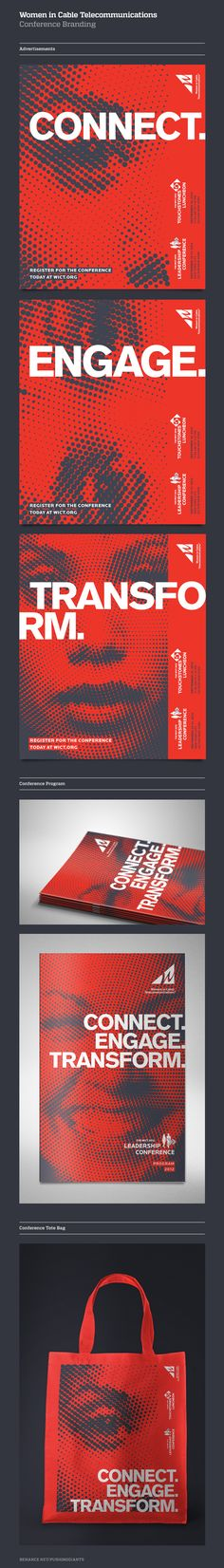 Conference Branding. Design: Greg Spraker / ©Fuszion