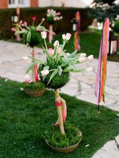 Wedding Decor. Floral design