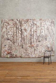 Anthropologie Tree Whisper Mural #anthrofave