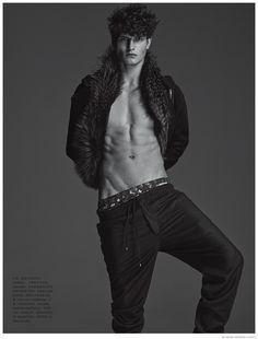 John Todd Dons Luxe Furs cair para Numero Homme China Moda imagem Editorial John Todd Numer Homme China Sessão Fotográfica 003