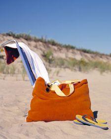 Beach Towel Bag (http://www.marthastewart.com/268274/beach-towel-bag)
