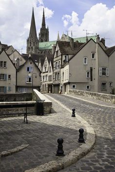 Street, Chartres, France
