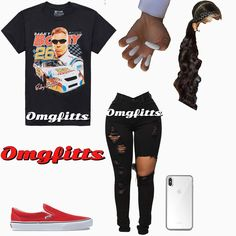 Swag Outfits For Girls, Cute Swag Outfits, Teenage Girl Outfits, Cute Outfits For School, Tomboy Outfits, Teen Fashion Outfits, Dope Outfits, College Outfits, Fashion Dresses