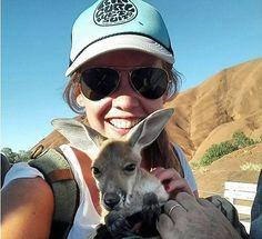 You never know who you are going to meet at #Uluru @Baadxgirl was lucky enough to have a snuggle withan adorablejoey! @SeeUluru #SeeAustralia #AmazingAustralia#myNTadventure#ExploreUluru#Naturalwonders#Instanaturalplaces #Instatravel#travelgram#naturelover#Goplayoutside#Stayandwander#Exploremore#Natgeo#Lonelyplanet#Letsgosomewhere #bestvacations#Finditliveit#passportexpress #passionpassport #dametraveler #justbackfrom