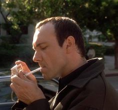 "Kevin Spacey as Verbal in ""The Usual Suspects"" (1995) Best Supporting Actor Oscar 1995"