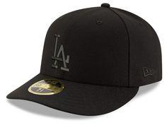 Los Angeles Dodgers New Era MLB Triple Black Low Crown 59FIFTY Cap