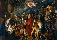 Peter Paul Rubens Painting - Adoration Of The Magi by Peter Paul Rubens Peter Paul Rubens, Fra Angelico, Epiphany Of The Lord, Pedro Pablo Rubens, Canvas Artwork, Canvas Prints, Rubens Paintings, Caravaggio, Old Master