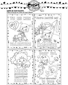 carte saint valentin enfant