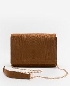 Sac boxy effet croco - Coup de cœur pour ce petit sac et son effet croco ! A porter ave...