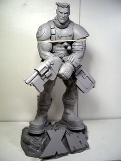 X-Men Cable Ramos style - Statue Forum