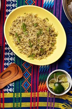 NYT Cooking: There are many ways to make arroz verde, but most have something in common: a brightness and depth from the addition of plenty of fresh green ingredients, such as chiles and herbs. This recipe toasts the rice in oil first, then seasons it with a purée of onion, poblano, jalapeños and herbs. For a more complex dish, replace the cooking water with chicken stock or vegetable stock, and serve it wi...