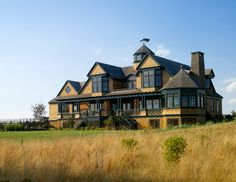 Victorian influenced shingle style, Portsmouth, RI. Andreozzi Architects.