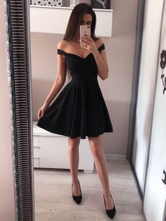 Off the Shoulder Red Homecoming Dresses Broad Strap Little B.- Off the Shoulder Red Homecoming Dresses Broad Strap Little Black Dress - Cheap Homecoming Dresses, Hoco Dresses, Dance Dresses, Sexy Dresses, Cute Dresses, Party Dresses, Prom Dress, Wedding Dresses, Summer Dresses