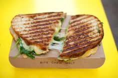 Grilled Cheese, Yes Please via the thomas collective