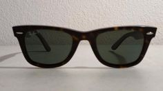 $49.95 RayBan 2140 New WayFarer Sunglasses Tortoise Frame Black Green Polarized Lenses #RayBan
