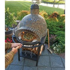 Members Mark Wood Fired Pizza Oven with Built-in Thermostat coupon from dealepic Wood Oven, Wood Fired Oven, Wood Fired Pizza, Pizza Oven Outdoor, Outdoor Cooking, Outdoor Entertaining, Brick Oven Outdoor, Brick Oven Pizza, Outdoor Dining