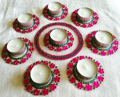 Diwali diya diwali diya set Christmas candle / by CozMHappy