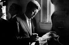 """""""A man does what he must -- in spite of personal consequences, in spite of obstacles and dangers and pressures."""" -- John Kennedy, 35th U.S. President"""