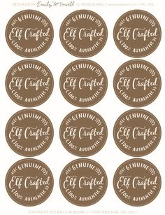 Free printable hand drawn round valentines day labels for all you rustic christmas labels free printable labels free printable gift tags negle Choice Image