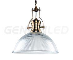 Lámpara colgante de estilo retro con forma medio esférica. Funciona con una bombilla tipo E27. Fabricada en metal y cristal de excelente calidad.Disponible también en otros formatos.  MEDIDAS: D28xH24 cm  Para ver más lamparas, visita www.genianled.com!  #lámparadediseño lámparadetecho #lámparacolgante #lámpararetro #lámparacristal #lámpara #lamp  #interiordesign #interiorismo #diseñodeinteriores #ceilinglamp #pendantlamp #glasslamp #lamps